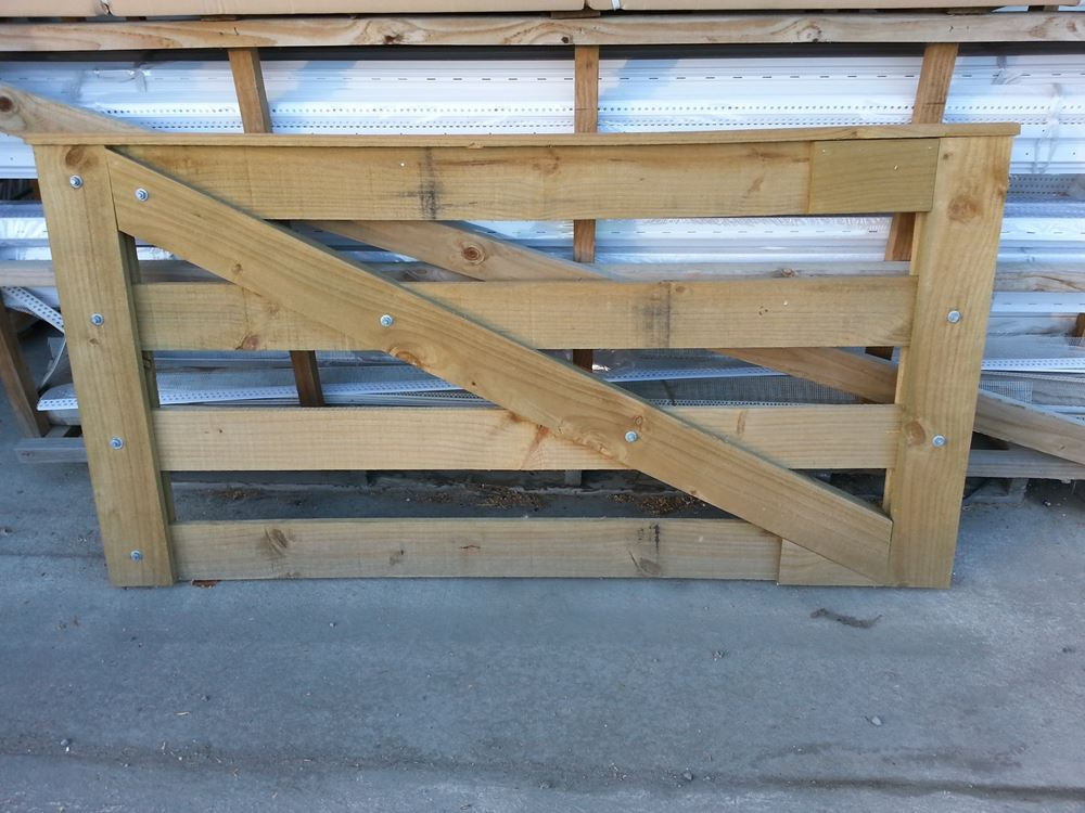 Specialty Products Wooden Gates